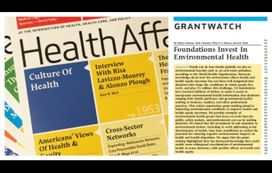 Health Affairs article