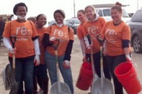 Sandy volunteers Rockaway Waterfront Alliance