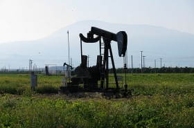 Edison field oil well California