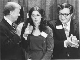 President Jimmy Carter, Gibbs, and Congressman John Lafalce