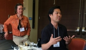 Sarah Christensen and Roger Kim FCCP 2013