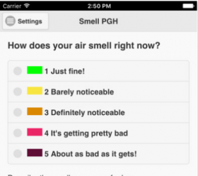 Smell Pittsburgh App