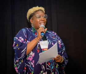 Ogonnaya Dotson Newman at the 2019 HEFN Annual Meeting