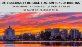 2018 Solidarity Defense & Action Funder Briefing