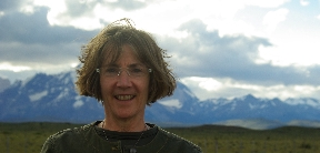 Photo of Amy Solomon at Torres del Paine